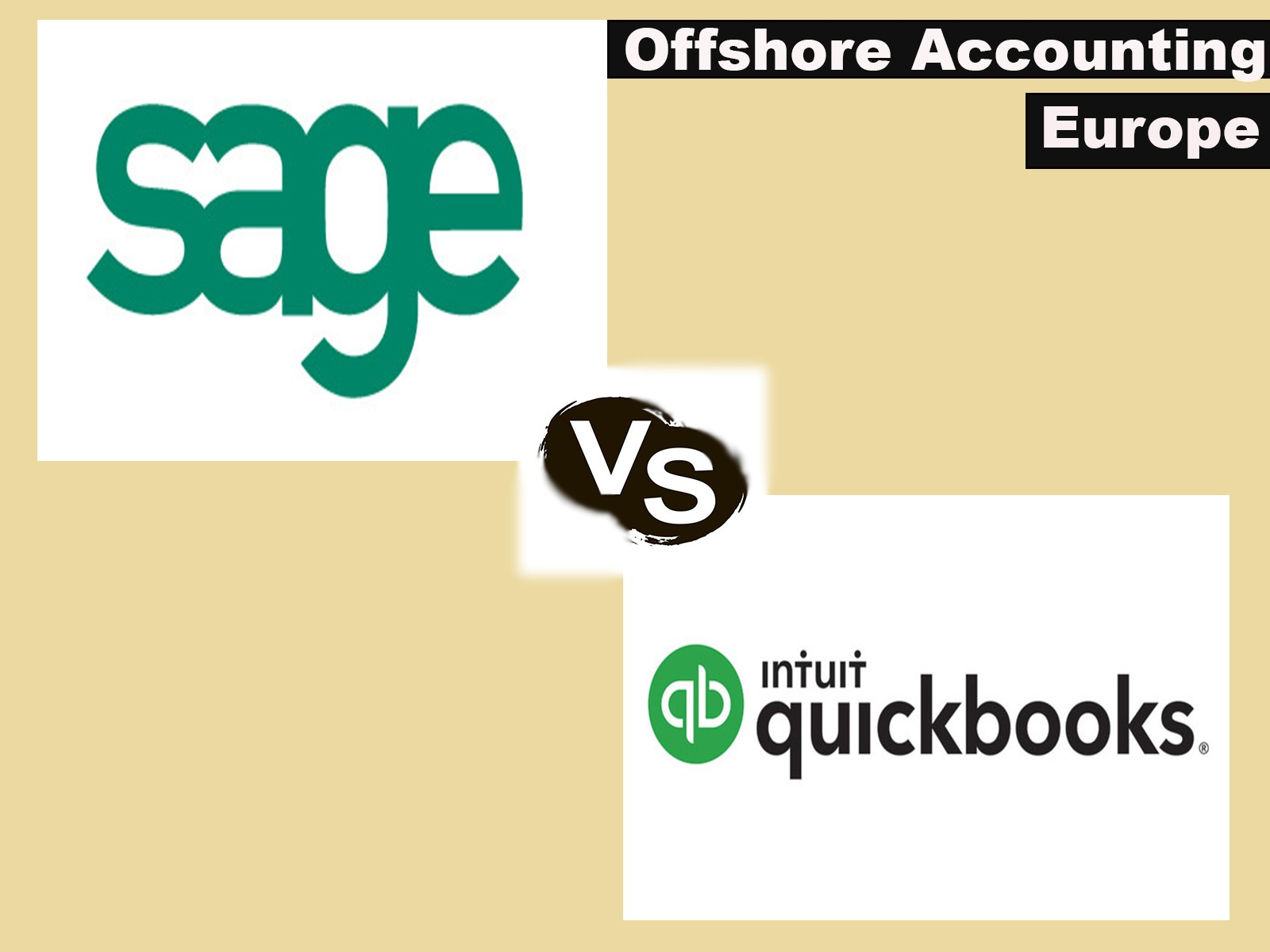 Offshore Accounting in Europe: Sage vs QuickBooks